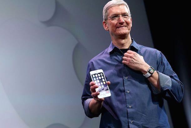 Тим Кук и iPhone 6