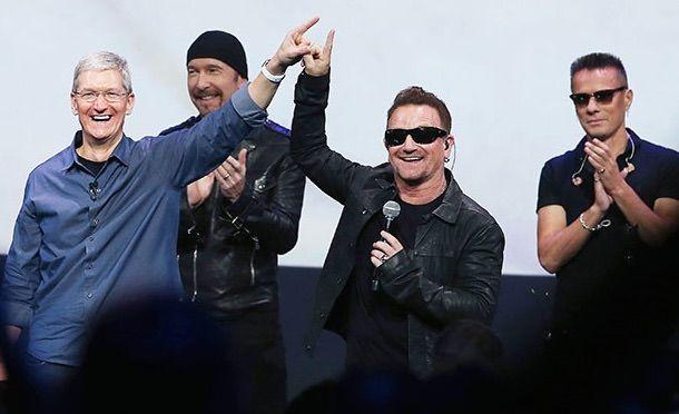 U2 Тим Кук