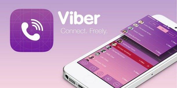Приложение Viber 5.0 с поддержкой видеозвонков