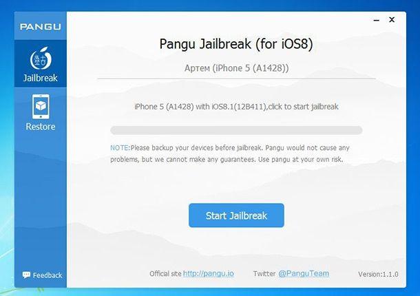 Как сделать джейлбрейк iOS 8