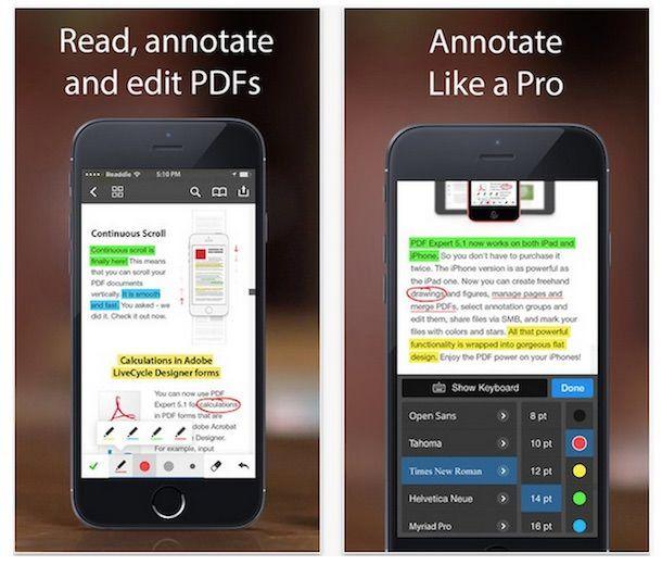 PDF Expert 5 для PDF-файлов
