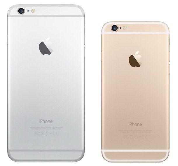 """Продажи: """"золото"""" у iPhone 6, """"серебро"""" - у iPhone 6 Plus"""