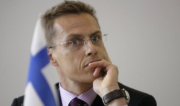 Александр Стубб Финляндия
