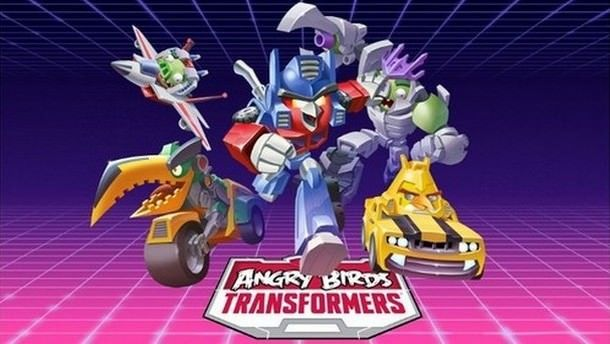 Игра Angry Birds Transformers для iPhone и iPad