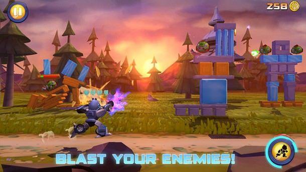 Игра Angry Birds Transformers для iPhone и iPad доступна в российском App Store