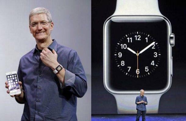 Тим Кук часы
