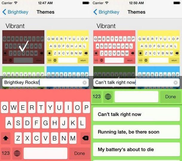 Brightkey для iOS 8