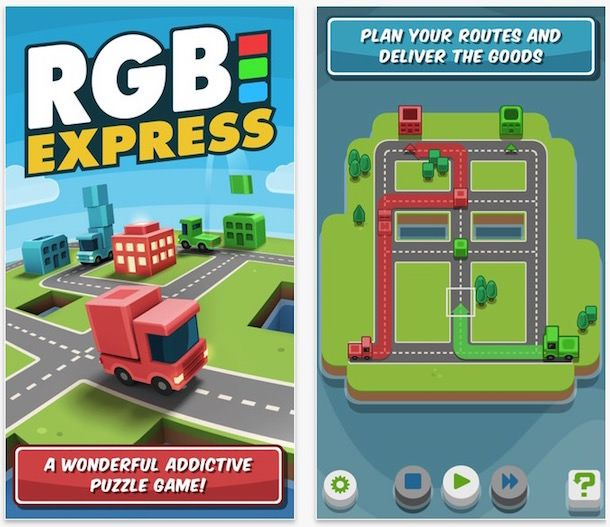 Игра RGB Express для iPhone iPad