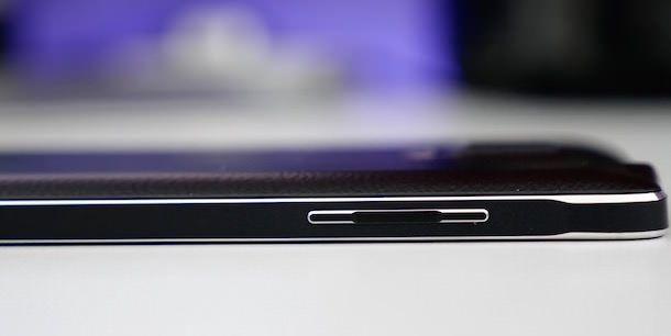 Физические кнопки Samsung Galaxy Note 4