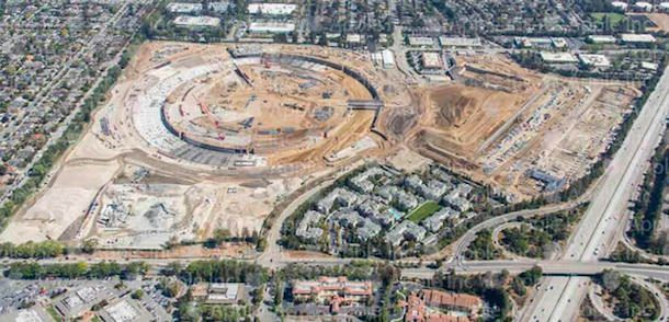 Apple Campus 2 в октябре 2014 года