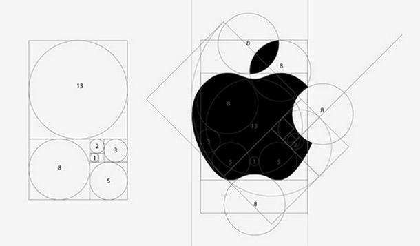 Эскиз монохромного логотипа Apple