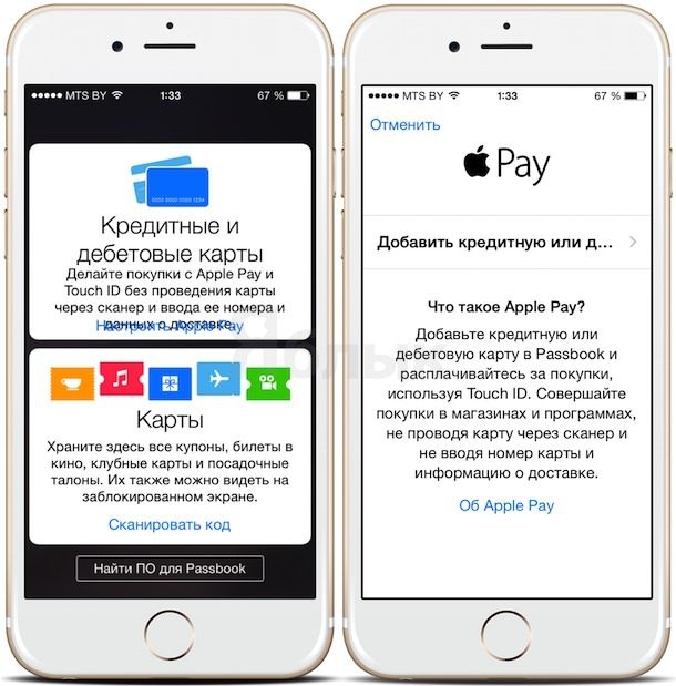Как настроить apple pay