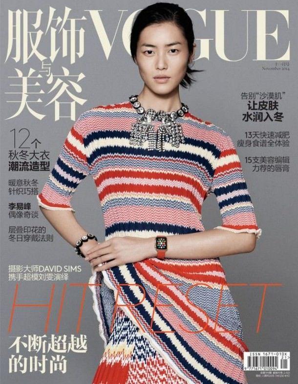 Apple Watch попадут на обложку китайского журнала Vogue
