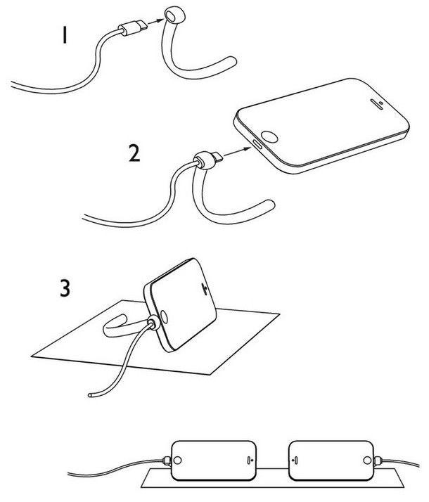 Аrch-y – минималистическая подставка для зарядки iPhone 5 и 6