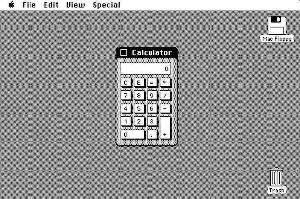 Калькулятор для Macintosh