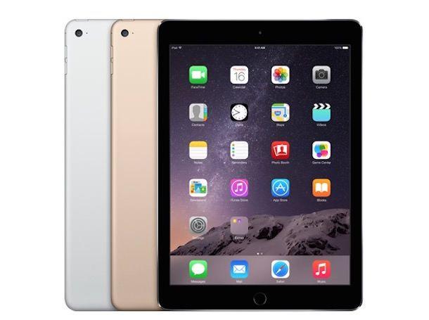 цвет iPad
