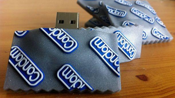USB-флешка как презерватив