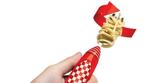 Электрическая вилка для спагетти