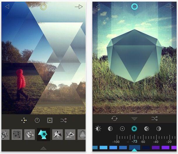 fragment для iphone и ipad - приложение для художественной обработки изображений