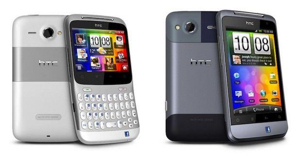 Facebook-смартфоны HTC