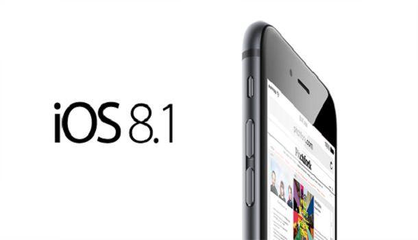 iOs 8.1 айфон