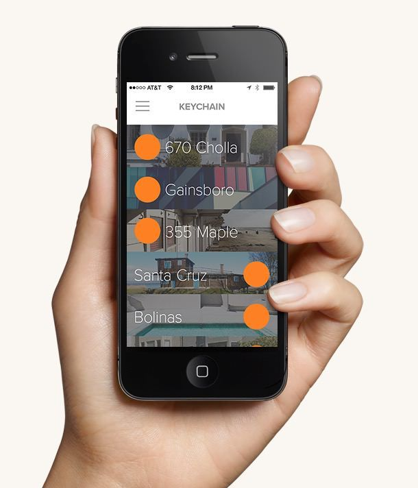 August - замок, управляемый iPhone