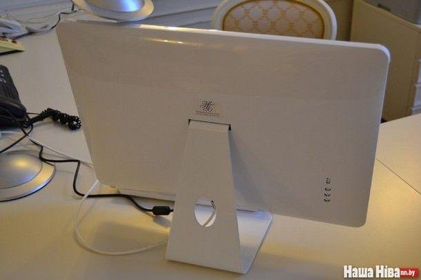 В кабинете председателя правления Нацбанка Республики Беларусь обнаружили компьютер похожий на iMac