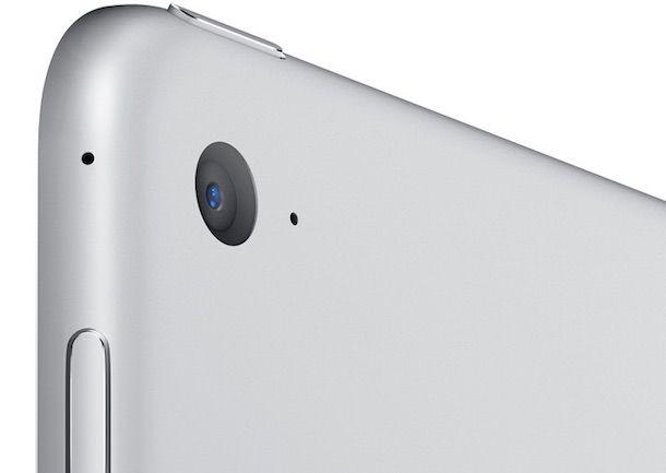 iPad Air 2 silver Камера