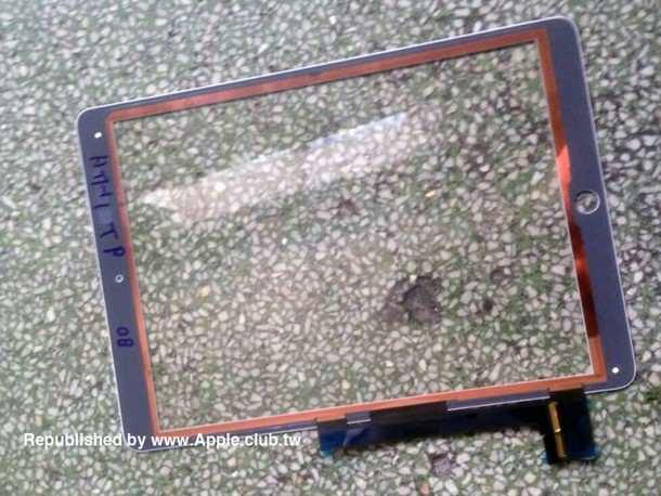 В Сети опубликованы очередные фотографии деталей iPad Air 2