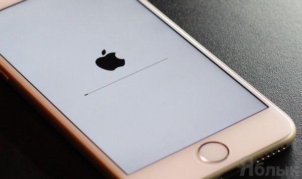 iPhone 6 сброс настроек