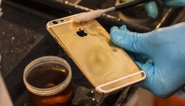 золотого iPhone 6