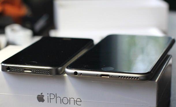 iphone 6 plus iphone 5s