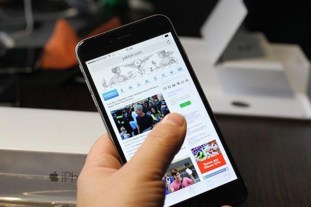 iphone 6 plus одной рукой