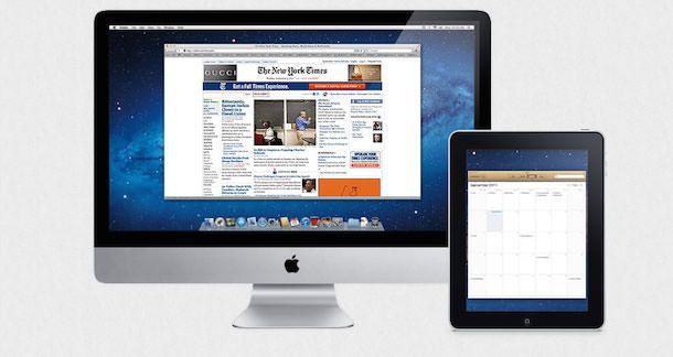 iMac и iPad
