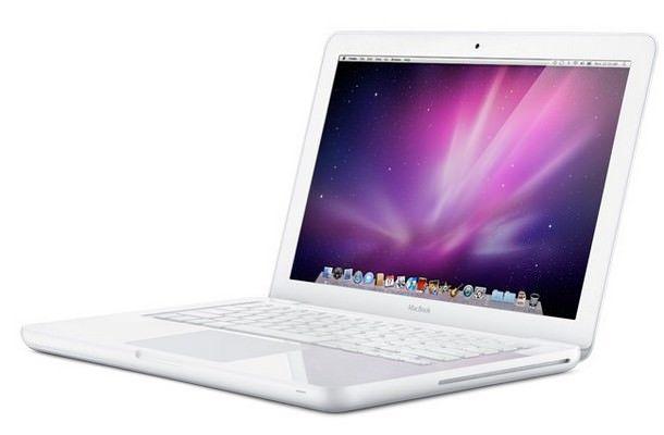 Белый MacBook