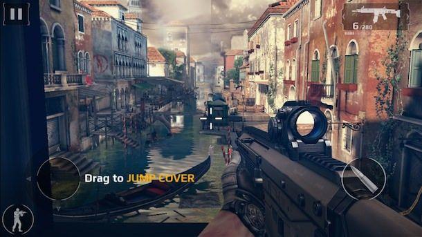 Игра Modern Combat 5: Затмение-2