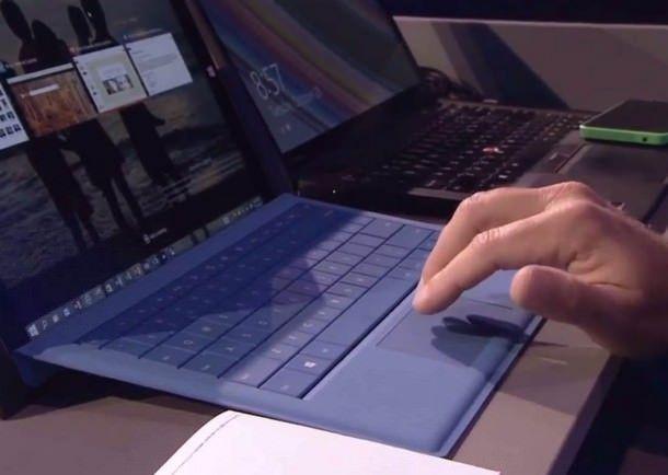 Мультитач-жесты в Windows 10