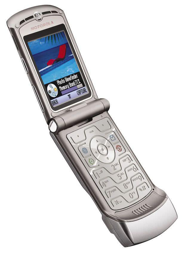 Телефон Motorola RAZR V3