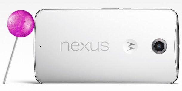nexus 6 loliloop