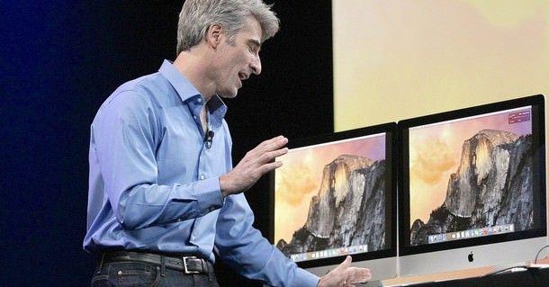 Крейг Федериги: Мы не заинтересованы в сенсорных дисплеях для Mac