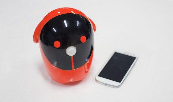 """Rico - робот, управяющий """"умным"""" домом при помощи iPhone"""
