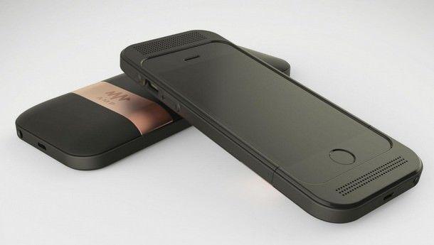 Amp - чехол для iPhone 6, улучшающий качество звука