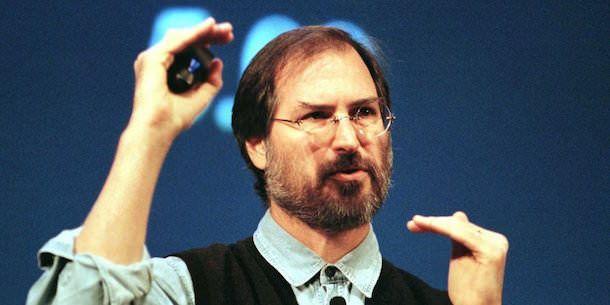 И еще одна фотка Стива Джобса