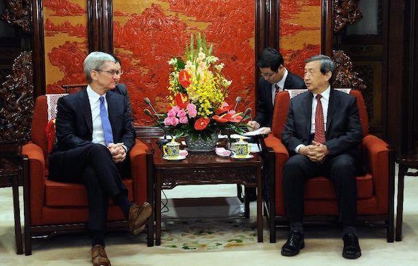 Тим Кук посетил Китай