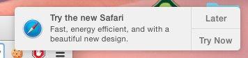 Safari в OS X Yosemite