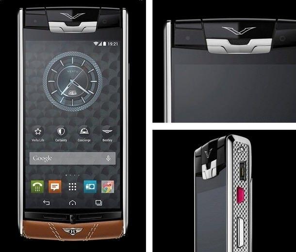 Vertu for Bentley: смартфон премиум-класса за 12 500 евро