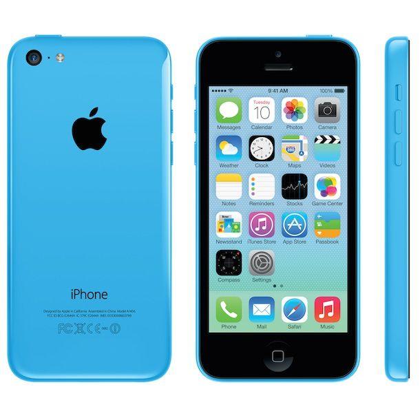 И еще один iPhone 5c