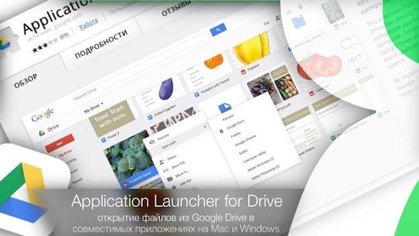 Как открывать файлы в совместимых программах прямо из Google Drive на Mac или Windows
