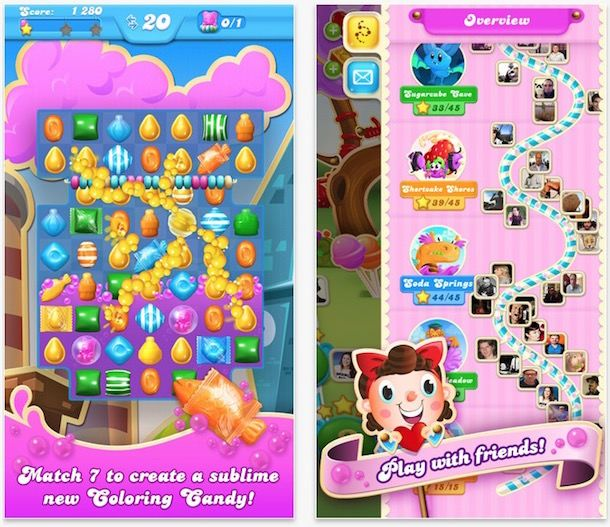 Игра Candy Crush Soda Saga для iPhone и iPad