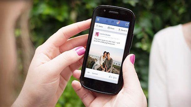 facebook на Android смартфоне